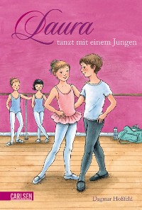 Cover Laura 4: Laura tanzt mit einem Jungen