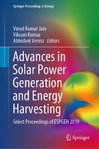 Cover Advances in Solar Power Generation and Energy Harvesting