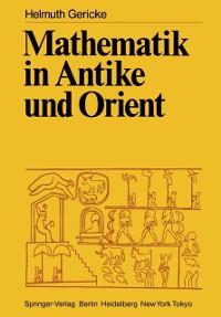 Cover Mathematik in Antike und Orient