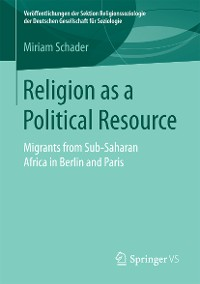 Cover Religion as a Political Resource