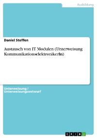 Cover Unterweisung zum Austausch von IT Modulen