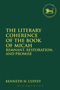 Cover Literary Coherence of the Book of Micah