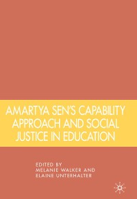 Cover Amartya Sen's Capability Approach and Social Justice in Education
