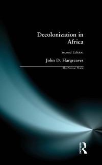 Cover Decolonization in Africa