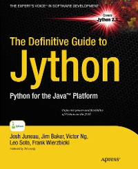 Cover The Definitive Guide to Jython