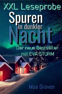 Cover XXL-Leseprobe Spuren in dunkler Nacht
