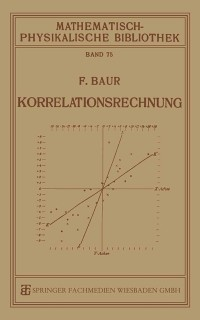 Cover Korrelationsrechnung
