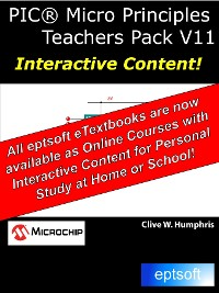 Cover PIC® Micro Principles Teachers Pack V11