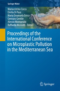 Cover Proceedings of the International Conference on Microplastic Pollution in the Mediterranean Sea