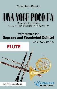 Cover (Flute part) Una voce poco fa - Soprano & Woodwind Quintet