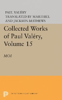 Cover Collected Works of Paul Valery, Volume 15