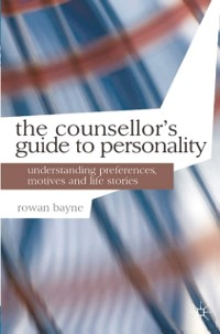 Cover Counsellor's Guide to Personality