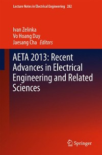 Cover AETA 2013: Recent Advances in Electrical Engineering and Related Sciences