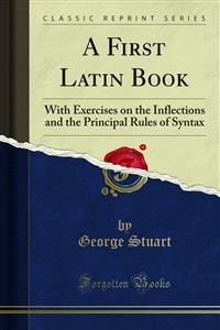 Cover A First Latin Book