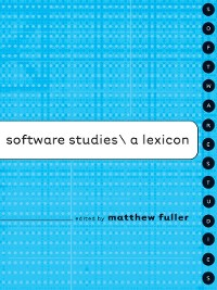 Cover Software Studies