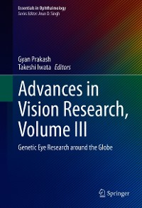 Cover Advances in Vision Research, Volume III