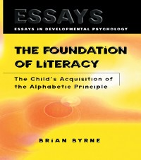 Cover Foundation of Literacy