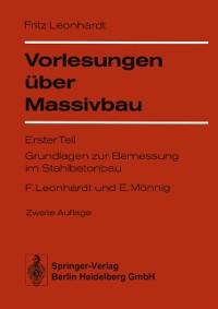 Cover Vorlesungen uber Massivbau