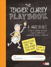 Cover The Teacher Clarity Playbook, Grades K-12