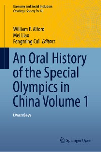Cover An Oral History of the Special Olympics in China Volume 1