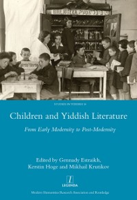 Cover Children and Yiddish Literature From Early Modernity to Post-Modernity