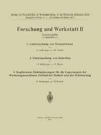 Cover Forschung und Werkstatt II