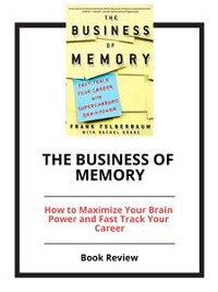 Cover The Business of Memory
