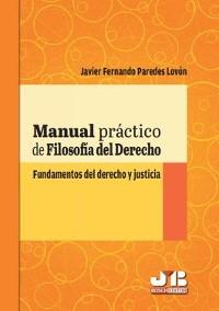 Cover Manual práctico de filosofía del derecho