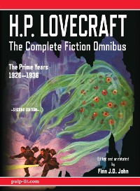 Cover H.P. Lovecraft - The Complete Fiction Omnibus Collection - Second Edition: The Prime Years