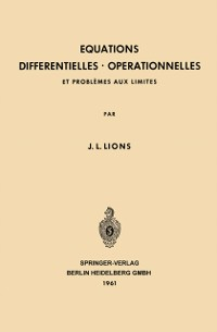 Cover Equations Differentielles Operationnelles
