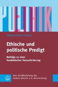 Cover Ethische und politische Predigt