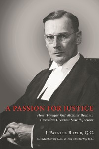 Cover A Passion for Justice
