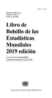 Cover Libro de bolsillo de las estadisticas mundiales 2019