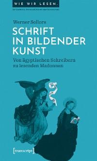 Cover Schrift in bildender Kunst