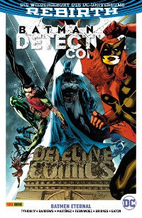 Cover Batman Detective, Band 7