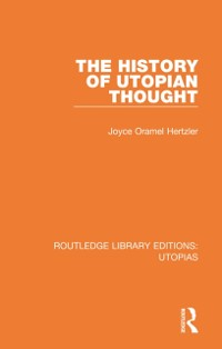 Cover History of Utopian Thought