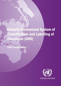 Cover Globally Harmonized System of Classification and Labelling of Chemicals (GHS)