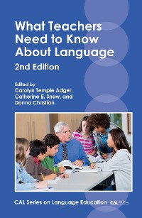 Cover What Teachers Need to Know About Language