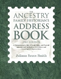 Cover The Ancestry Family Historian's Address Book