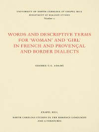"Cover Words and Descriptive Terms for ""Woman"" and ""Girl"" in French, Provençal, and Border Dialects"