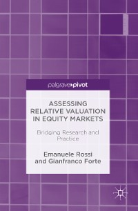 Cover Assessing Relative Valuation in Equity Markets