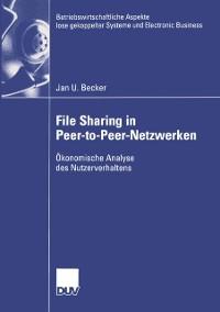 Cover File Sharing in Peer-to-Peer-Netzwerken
