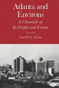 Cover Atlanta and Environs