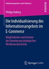Cover Die Individualisierung des Informationsangebots im E-Commerce
