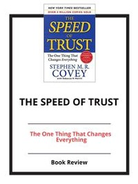 Cover The Speed of Trust