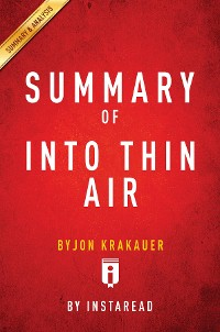Cover Summary of Into Thin Air