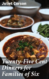 Cover Twenty-Five Cent Dinners for Families of Six