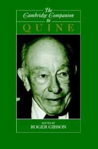 Cover Cambridge Companion to Quine