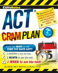 Cover CliffsNotes ACT Cram Plan, 2nd Edition
