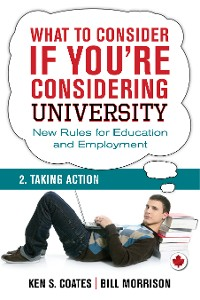 Cover What To Consider if You're Considering University — Taking Action